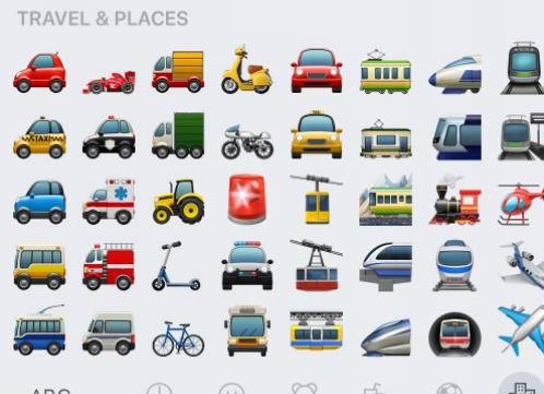 Transportation Emoji